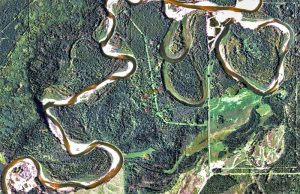 Aerial Imagery of a watercourse
